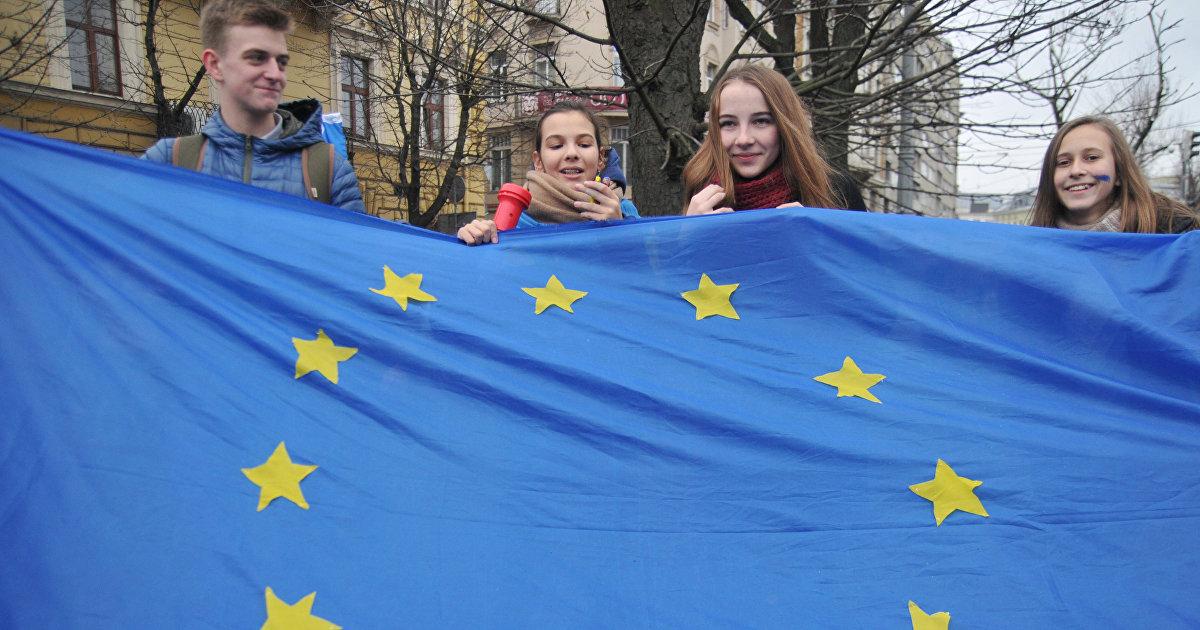 Зеленский о сроках вступления Украины в ЕС: нет смысла задавать вопросы, когда знаешь ответ (РБК-Україна, Украина) (РБК-Україна)
