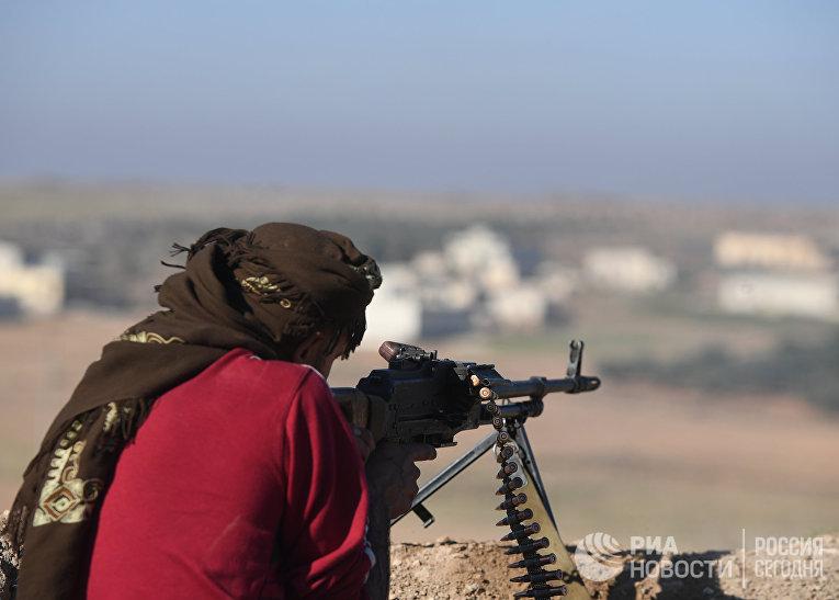 Сирийский ополченец