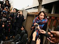 Японская журналистка Сиори Ито