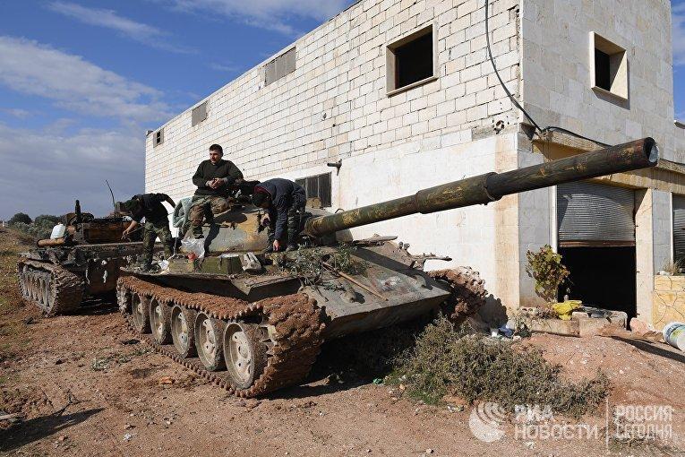 Сирийская армия взяла город Джарджаназ в провинции Идлиб