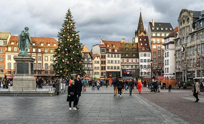 Рождественская елка в Страсбурге