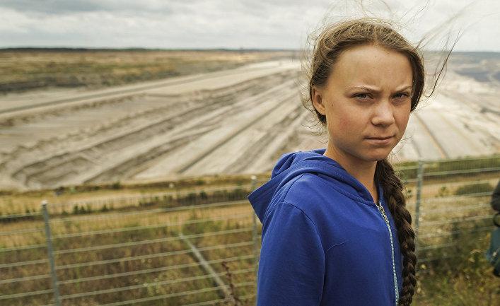 Экологическая активистка Грета Тунберг