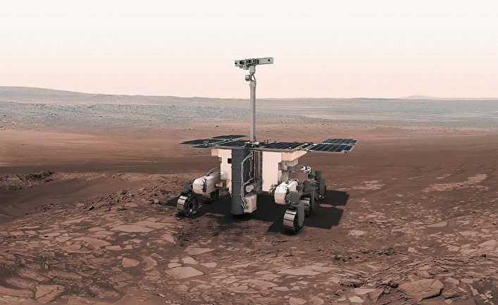 Прототип марсохода программы «ЭкзоМарс»