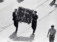 Венок в День памяти жертв геноцида армян