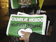 Номер газеты Charlie Hebdo