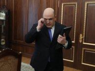Руководитель Федеральной налоговой службы Михаил Мишустин