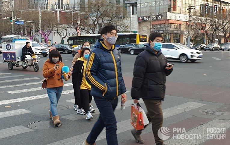 Распространение коронавируса нового типа в Китае