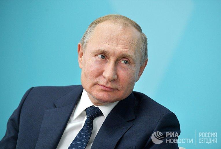 Рабочая поездка президента РФ В. Путина в Сочи