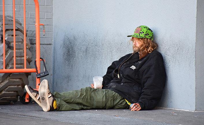 Бездомные в Сан-Франциско