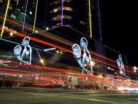 Фотографии американского баскетболиста Коби Брайанта в Лос-Анджелесе
