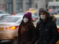 В Москве превышен эпидемический порог по гриппу и ОРВИ