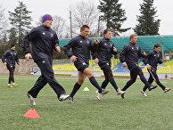 Тренировка сборной России по регби