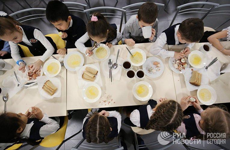 Организация питания в школах