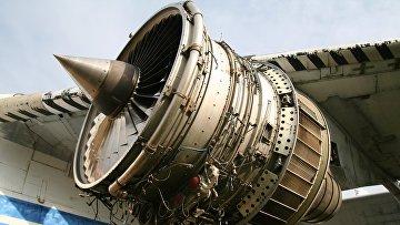Двигатель производства компании «Мотор Сич»