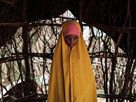 Девочка в кенийском городе Дадаэб