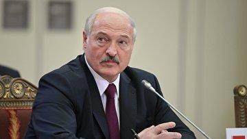 Президент Белоруссии А. Лукашенко. Санкт-Петербург