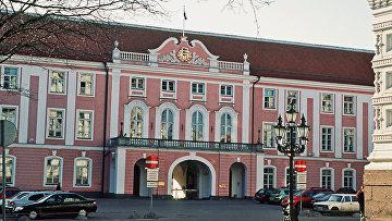 Здание Парламента Эстонии в Таллине