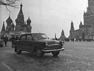 Красная площадь в Москве.