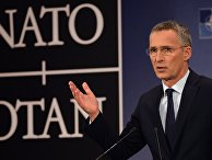 Генеральный секретарь НАТО Йенс Столтенберг на саммите НАТО в Брюсселе