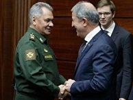 Встреча министров иностранных дел и обороны России и Турции