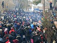 Турция открыла границы с ЕС для сирийских беженцев