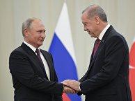 Рабочий визит президента РФ В. Путина в Иран