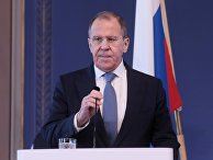 Визит главы МИД России С. Лаврова в Финляндию