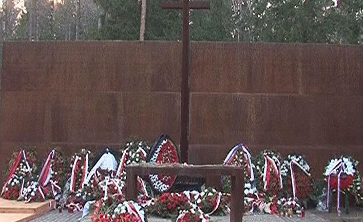 """Мемориал """"Катынь"""" стал символом двух трагедий"""
