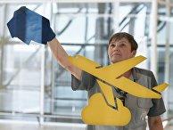 Дезинфекция и уборка помещений в аэропорту Симферополя
