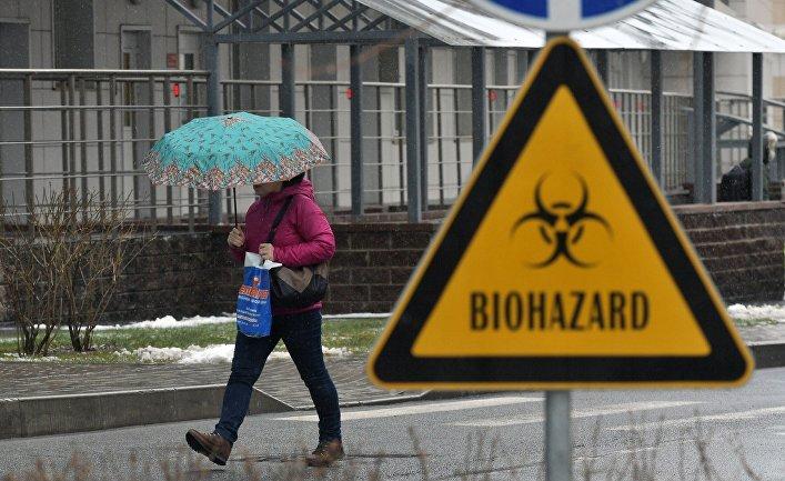 Инфекционная больница имени Боткина в Санкт-Петербурге
