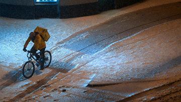 Снег в Москве и Подмосковье