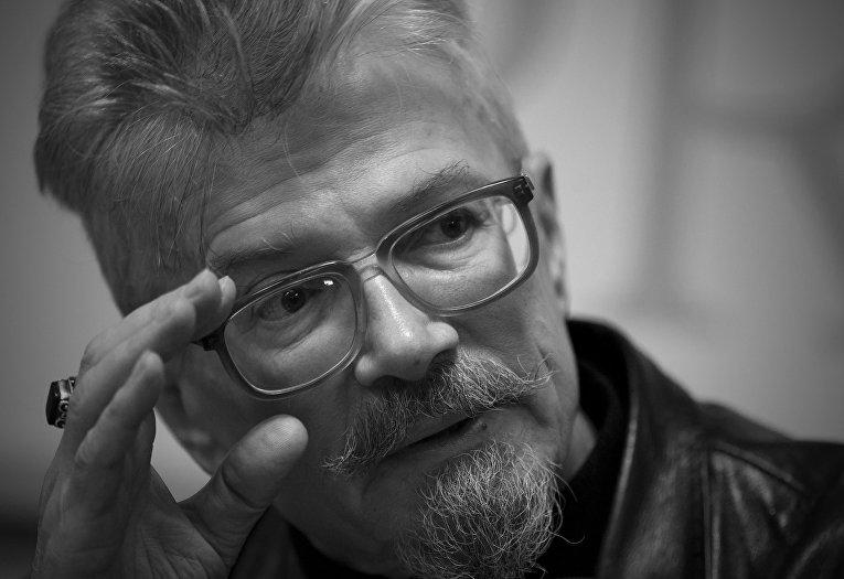 Писатель, лидер партии «Другая Россия» Эдуард Лимонов