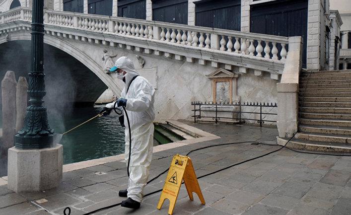 Меры против коронавируса в Венеции, Италия