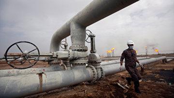 Нефтяное месторождении к северу от Басры, Ирак