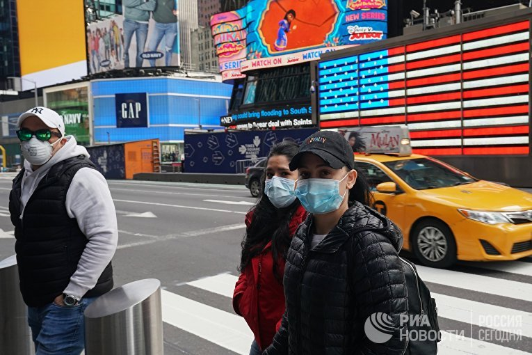 В Нью-Йорке введён режим ЧС в связи с коронавирусом