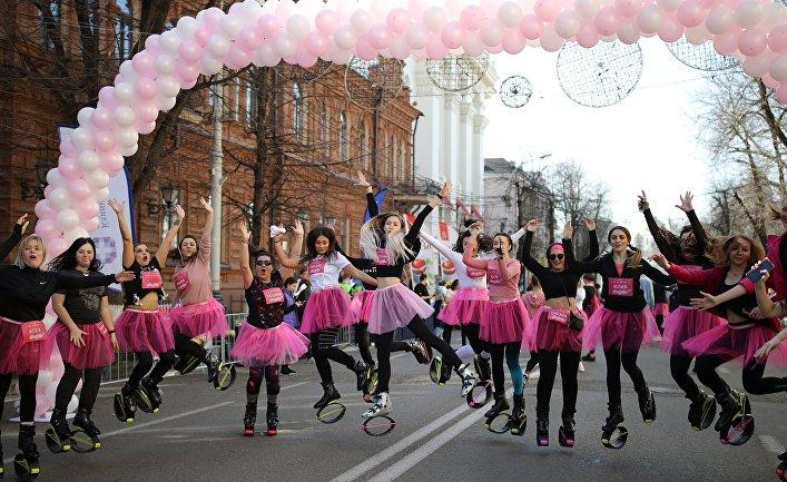 Женский забег Beauty Run в Краснодаре