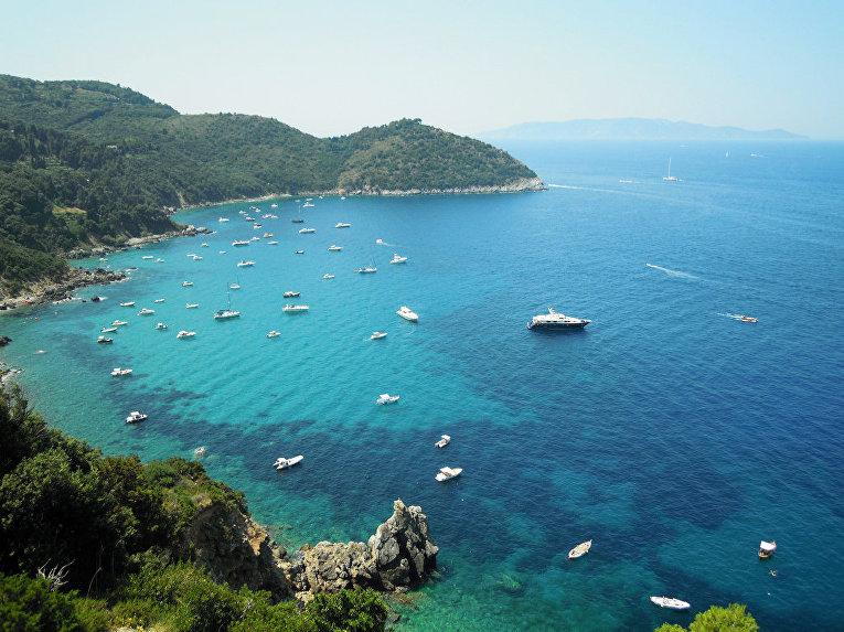 Арджентарио, мыс южной части побережья Тосканы