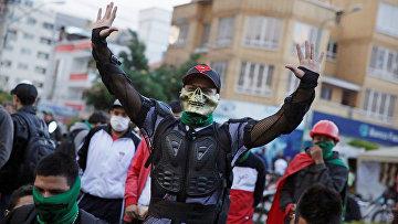 Акции протеста в Кочабамба, Боливия