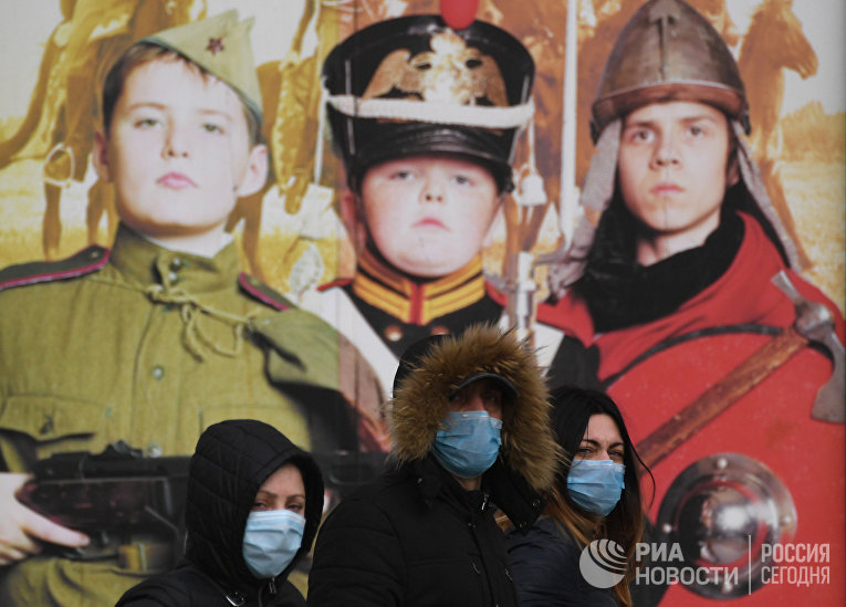 Россияне во время вспышки коронавируса