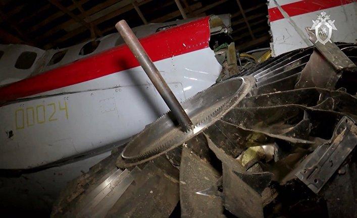 Хранение вещдоков по делу о крушении самолета президента Польши в Смоленске