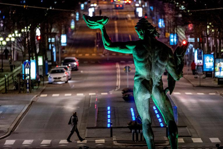 Прохожий на улице Гётеборга, Швеция