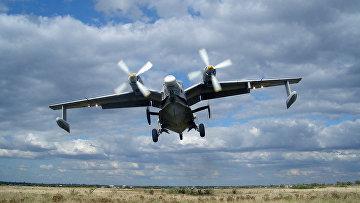 Украинский самолет-амфибия Бе-12