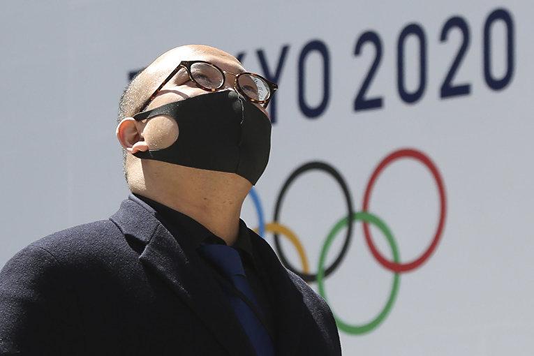 Логотип Олимпийских игр в Токио