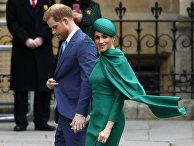 Британский принц Гарри и Меган, герцогиня Сассексская в Лондоне, Великобритания