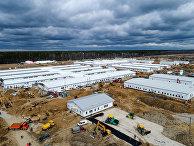Строительство инфекционного центра в Новой Москве