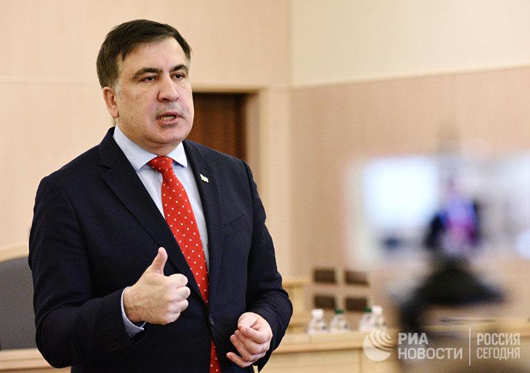 Суд в Киеве рассмотрел иск М. Саакашвили против лишения его украинского гражданства
