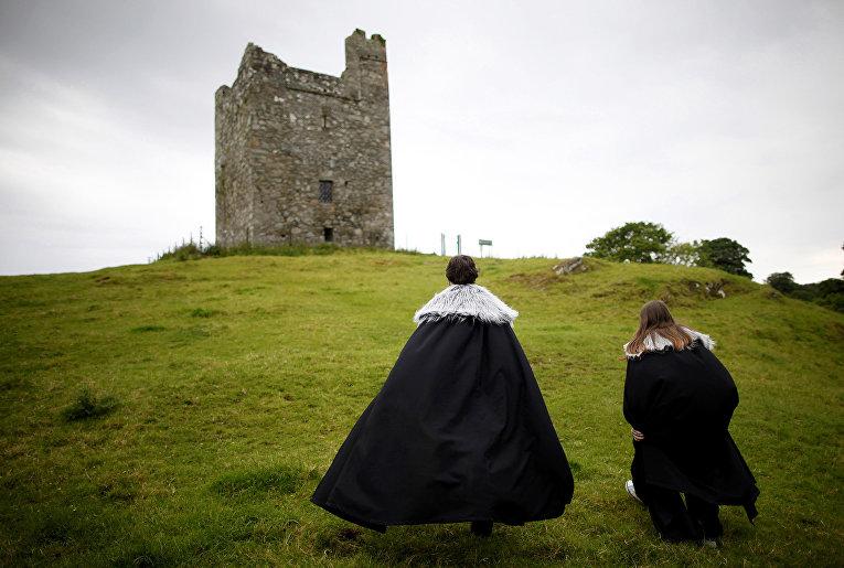Замок Audleys в Ирландии