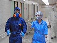 Дезинфекция больницы в Санкт-Петербурге