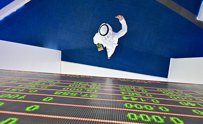 Трейдер на финансовом рынке Дубая