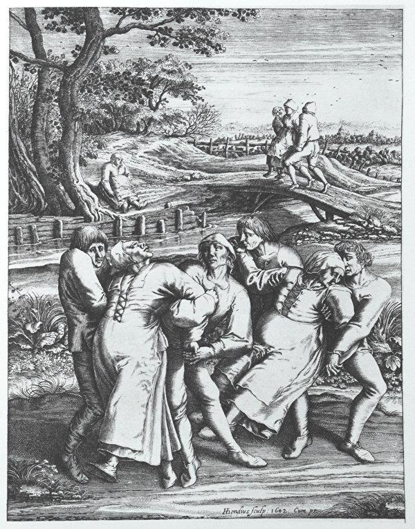 Танцевальная чума 1518 года